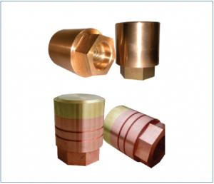 Beryllium copper plunger tip